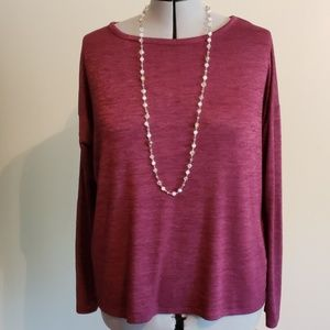 Maroon GAP top